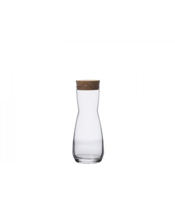 Karaf 0.33 liter, met kurk - Lyngby Denmark