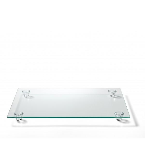 Serveerschaal Nordic Sense, glas 40 x 30 cm