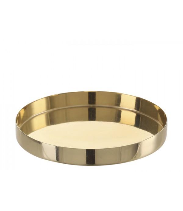 Dienblad Vilna 10,5 x 1,5 cm brass