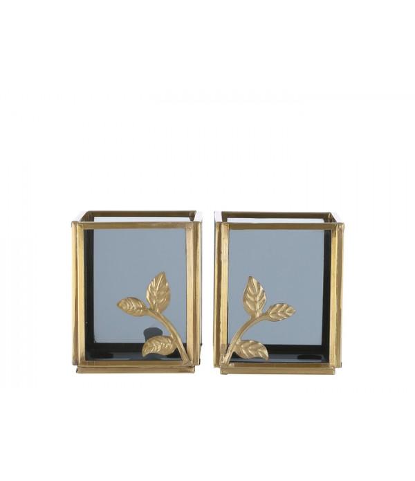 Lantaarn Figari 7x7x8 cm set 2
