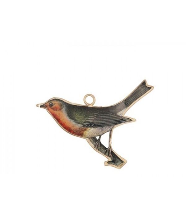 Ornament Grado Vogel 10x7 cm