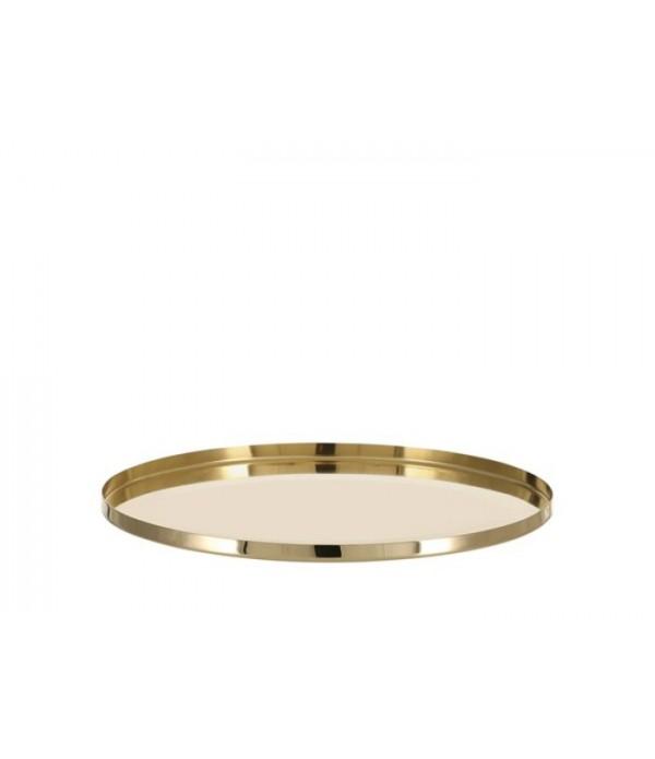 Dienblad Vilna 1,5 x D31 cm brass