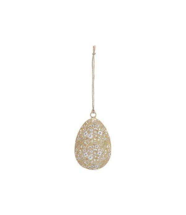 Ornament Enger oval 5,5x8cm Go