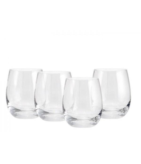 Glass Velten 10 cm D7 cm 4 pcs