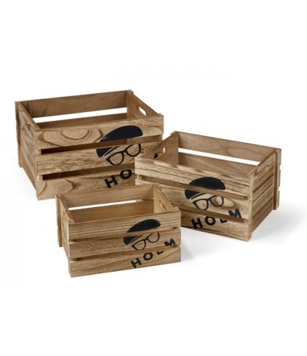 Box set, Wood, Holm