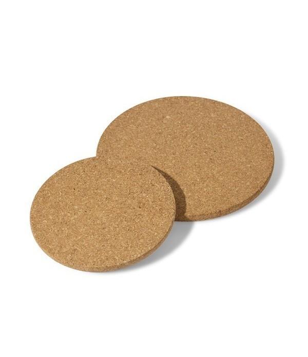 Cork pads rond 2pcs 17/22 cm