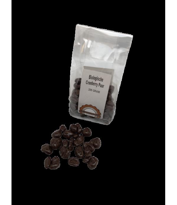 Cranberry puur Chocoladeliefhebber biologisch 200 ...