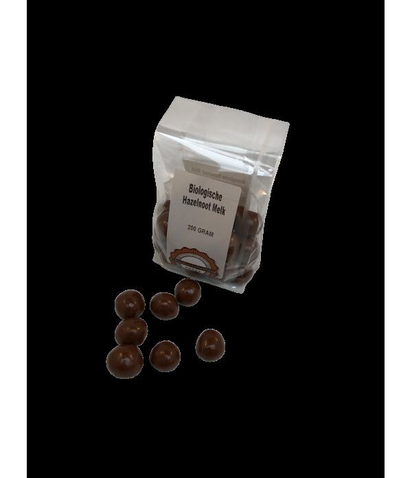 Hazelnoot melk Chocoladeliefhebber biologisch 200 ...