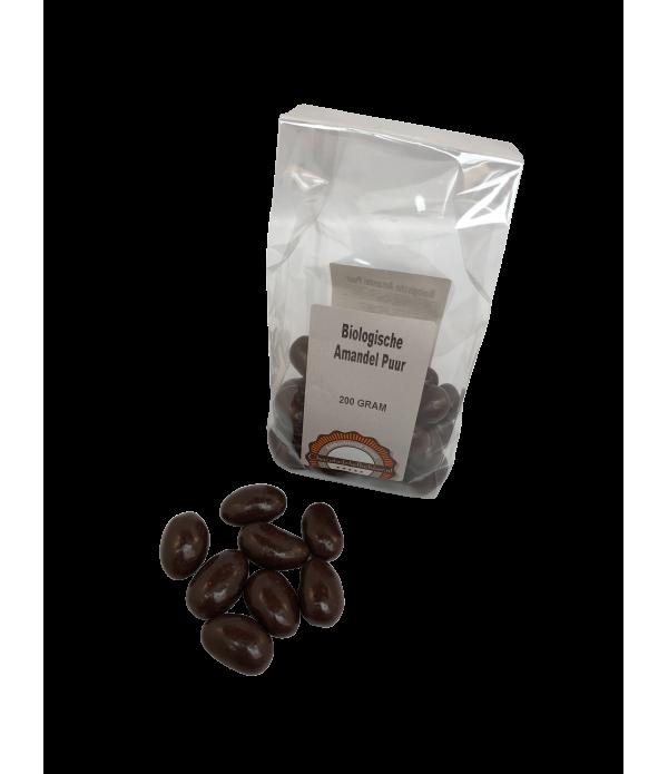 Amandel puur Chocoladeliefhebber biologisch 200 gr...
