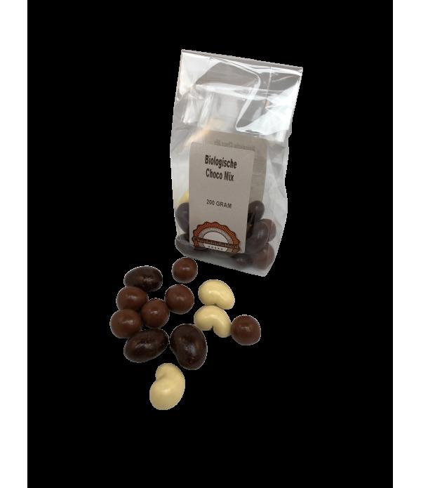 Chocomix Chocoladeliefhebber biologisch 200 gram